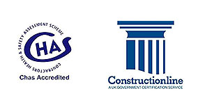 Accredited with CHAS and Construction Line